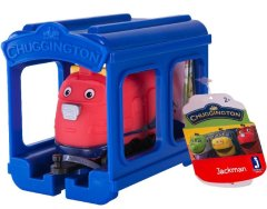 Паровозик Jazwares Chuggington Джекман з гаражем JW10566 / 38620/10588