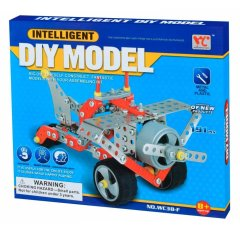 Конструктор металевий Same Toy Inteligent DIY Model Літак, 191 елемент WC38FUt