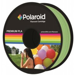 Котушка з ниткою 1KG PLA Polaroid Filament Cartridge Light Green 3D-FL-PL-8005-00, Зелений