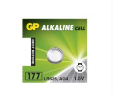 Батарейка GP Batteries LR626/AG4 bat 1,5B Alkaline, IMA01027130