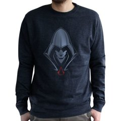 Світшот ABYstyle Assassin's Creed S чорний ABYSWE017S, Чорний, S