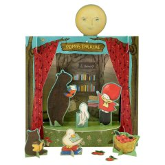 Блокнот Santoro Poppi Loves Theatre Play Time Set 837PL01