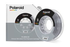 Котушка з ниткою 250G PLA SILK Polaroid Filament Cartridge Silver 3D-FL-PL-8404-00, Сріблястий