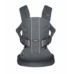 Рюкзак BB Baby Carrier ONE Denim grey/Dark grey Cotton Mix 98094, Сірий