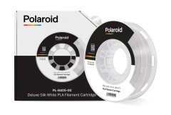 Котушка з ниткою 250G PLA SILK Polaroid Filament Cartridge White 3D-FL-PL-8405-00, Білий
