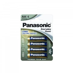 Батарейки Panasonic Everyday Power AA BLI 4 Alkaline 4 шт LR6REE/4BR