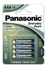 Батарейки Panasonic Everyday Power AAA BLI 4 Alkaline 4 шт LR03REE/4BR