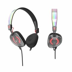 Навушники Skullcandy Knockout Mash-Up/Multi/Coral S5AVHX-461