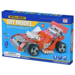 Конструктор металевий Same Toy Inteligent DIY Model, 263 елемента WC88AUt, Червоний