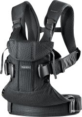 Рюкзак BABY BJORN Baby Carrier ONE чорний 98025, Чорний